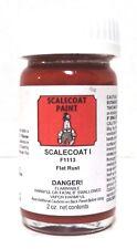 Scalecoat I S1113 Rust 2 oz Enamel Paint Bottle