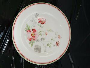 Teller Plate Greengate Meadow white  Neu