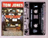 TOM JONES: Reloaded - Cassette Tape Vintage
