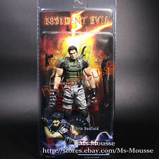 NECA Resident Evil 5 Chris Redfield 7 inch Action Figure Collection New Sealed