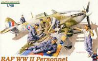 Eduard RAF Personnel 6 Soldaten Mechaniker Figuren Jäger 1:48 Modell-Bausatz kit