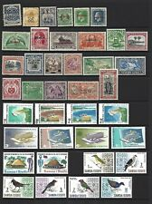 Samoa.  Collection of  54 stamps, 1879 to 1968, Mint & Used.
