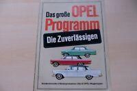 219653) Opel Rekord - Kapitän - Kadett Prospekt 19/1963