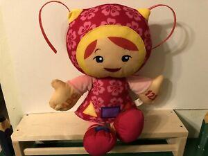 Team Umizoomi Milli Doll Measure ABC & Shape Talking Musical Fisher Price Rare