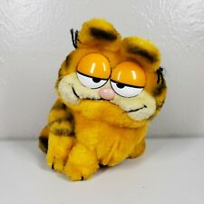 "Vintage Garfield Cat Plush Stuffed Animal 7"" Dakin 1981 Jim Davis"