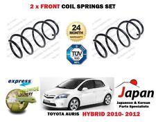 für Toyota Auris 1.8 Hybrid 2010-2012 NEU 2 x vorne links rechts Schraubenfeder