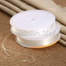 1mm Clear Elastic Stretch String Thread Cord Wire Bracelet Jewelry Beads Making