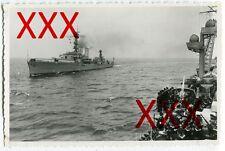 KREUZER EMDEN & KARLSRUHE - orig. Fotografie, 9,3x14,3 cm, Okt. 1934, vintage