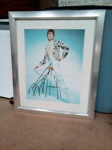 Signed David Bowie Picture