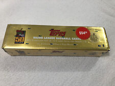 ⚡️2001 Topps Baseball Factory Sealed Set in Gold Box *Ichiro Suzuki Rookie*⚡️
