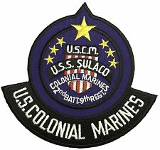 U.S. Colonial Marines U.S.C.M. Embroidered Iron on Patch