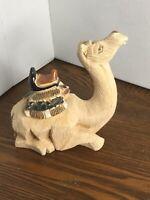 Artesania Rinconada Happy Camel # 64 Ceramic Handcrafted Uruguay Signed aR