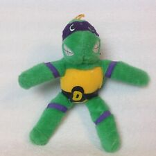 "Vintage Teenage Mutant Ninja Turtle DONATELLO 9"" Plush 1988 ACE Novelty"