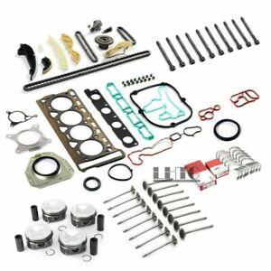 Engine Rebuild Overhaul Kit Piston Valves Ø21mm For VW GTI Audi 2.0 TFSI CCZ CDN