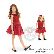 American Girl CL MY AG DUO JOYFUL JEWELS DRESS SIZE M 12 for Girls & Doll NEW