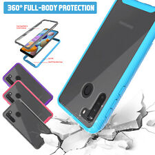 For Samsung Galaxy A21,A11,A71 5G,A51 5G Bumper Case Built-in Screen Protector