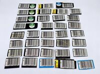 Vintage Kenner Star Wars Action Figure Proof Of Purchase Barcode Lot 1977-1985