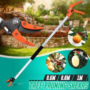 Fruit Picker Tree Pruner Shears Garden Tool Branch Long Reach Limb Cutter 1/2 in