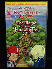 ENID BLYTON'S ENCHANTED LANDS - THE MAGIC OF THE FARAWAY TREE  ~ RARE VHS VIDEO