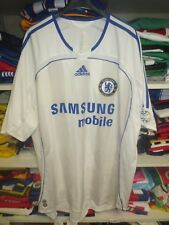 Maillot CHELSEA 2007 ADIDAS away football shirt vintage trikot XL