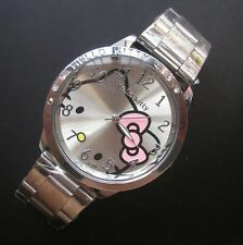 HELLO KITTY steel watch Great quality and price A2086