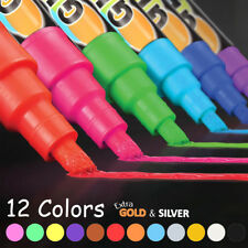 Chalkboard Chalk Markers - Pack of 12 Classic Earth Color pens | Dust Free 2019