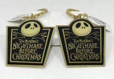 Disney Applause Tim Burton's Nightmare Before Christmas Key Chain [Lot of 2] New