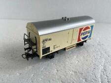 """Märklin HO_4419, 2 Axle Refrigerator Car with """"PEPSI"""" inscription"""