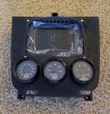 LOWER DASH FINISHER 3 52mm GAUGE POD AEM CD5 for 95-98 Nissan 240sx s14