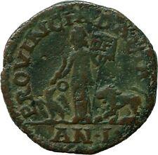Rare Roman Coin Philip I 247AD Dacia Sestertius Eagle Lion Genuine