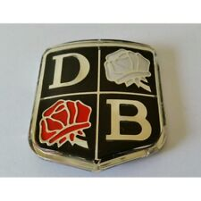 DAVID BROWN TRACTOR ROSES BADGE - EARLY TYPE