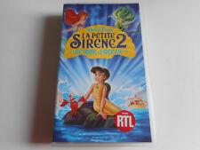 K7 VHS / CASSETTE VIDEO - LA PETITE SIRENE 2 / RETOUR A L'OCEAN - DISNEY