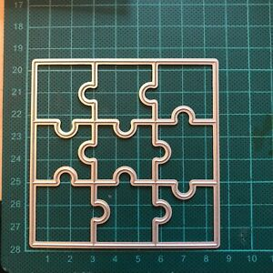 Brand New Jigsaw Puzzle Game Metal Die Cutter Uk Seller