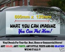 Personalised Custom Lettering, Your Text, Car, home Decal 600mm Vinyl Sticker..
