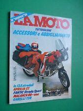 LA MOTO Febbraio 1984 Beta TR 32 Kawasaki GPZ 900 R Aprilia ST Garelli TSR Trial