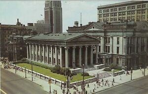 Vintage Ohio Chrome Postcard Dayton Old Court House