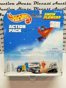 HOT WHEELS VINTAGE ACTION PACK SNOW PLOWERS POWER PLOWER BIG CHILL