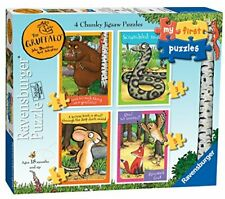 Ravensburger 7226 Gruffalo-My First Jigsaw Puzzles (2, 3, 4 & 5pc) Toddler Toy