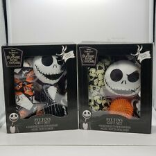 Disney Nightmare Before Christmas-Pet Toy Gift Sets-1 Large Dogs & 1 Small Dogs
