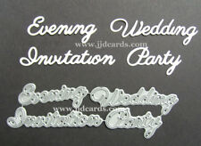 Britannia Dies - Wedding Invitation, Evening, Party -080  - Cardmaking