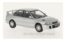 #243 - WhiteBox Mitsubishi Lancer Evo 1 - silber - RHD - 1992 - 1:43