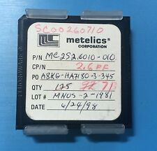 MC2S2.6010-010 METELICS CAPACITOR CHIP 2.6PF RF MICROWAVE 71/units