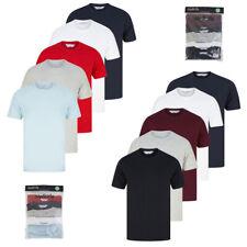 Tokyo Laundry Men's T-Shirts Multi Pack of 5 Basic Plain Top Set 100% Cotton
