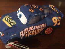 Disney Pixar Cars 3 Talking Lightning McQueen Crash Em Stuffed Race Car Toy