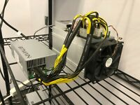 Tested Working Bitmain AntMiner V9 with Bitmain APW3++ 1600w PSU