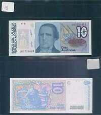 ARGENTINA 10 AUSTRALES   1989 UNC (rif.10 )