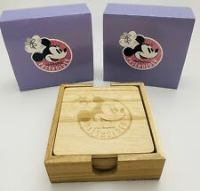 New listing 2019 Disney Parks Food & Wine Chef Minnie Mouse Passholder Exclusive Coaster Set