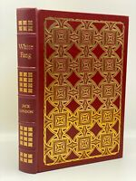 Easton Press WHITE FANG Jack London Collector's VINTAGE LIMITED Edition LEATHER