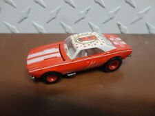 Loose Hot Wheels Red Otter Pops '67 Chevy Camaro w/Real Rider Wheels