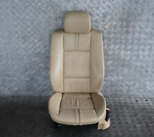 BMW X3 Series E83 Beige Leather Interior Front Left N/S Seat